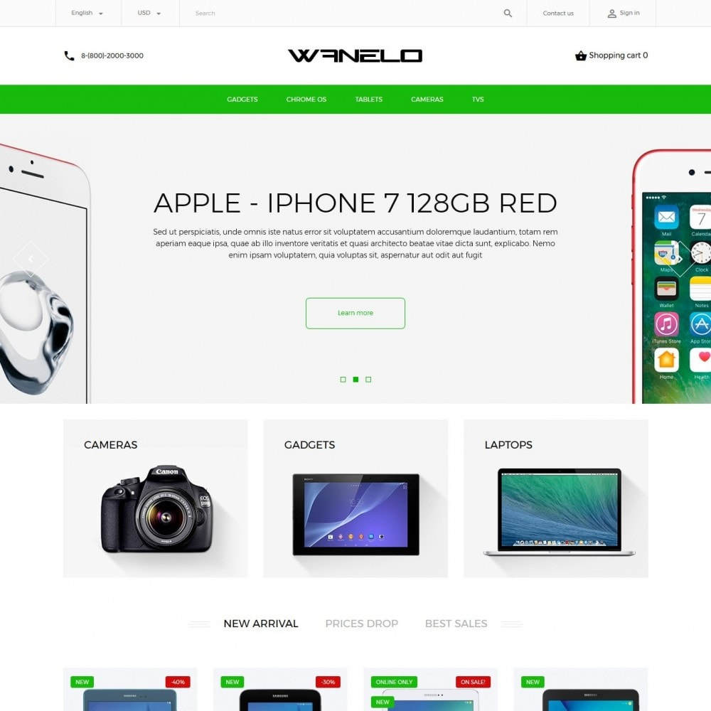 theme - Elektronica & High Tech - Wanelo - High-tech Shop - 2