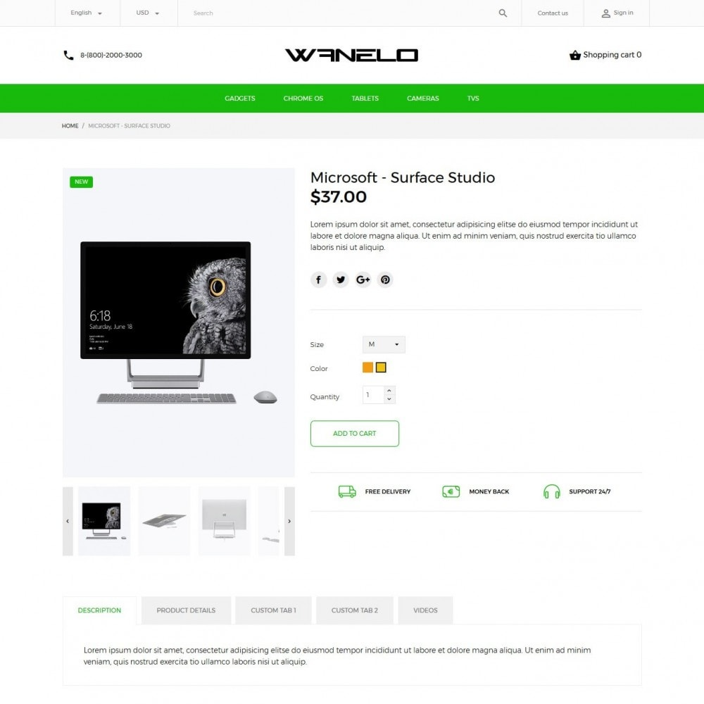 theme - Elektronica & High Tech - Wanelo - High-tech Shop - 7