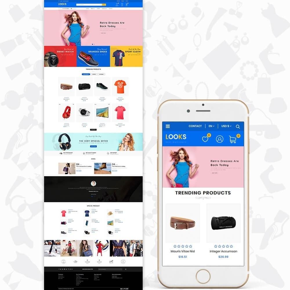theme - Moda & Calzature - LOOKS - The Best Fashion Multistore - 2
