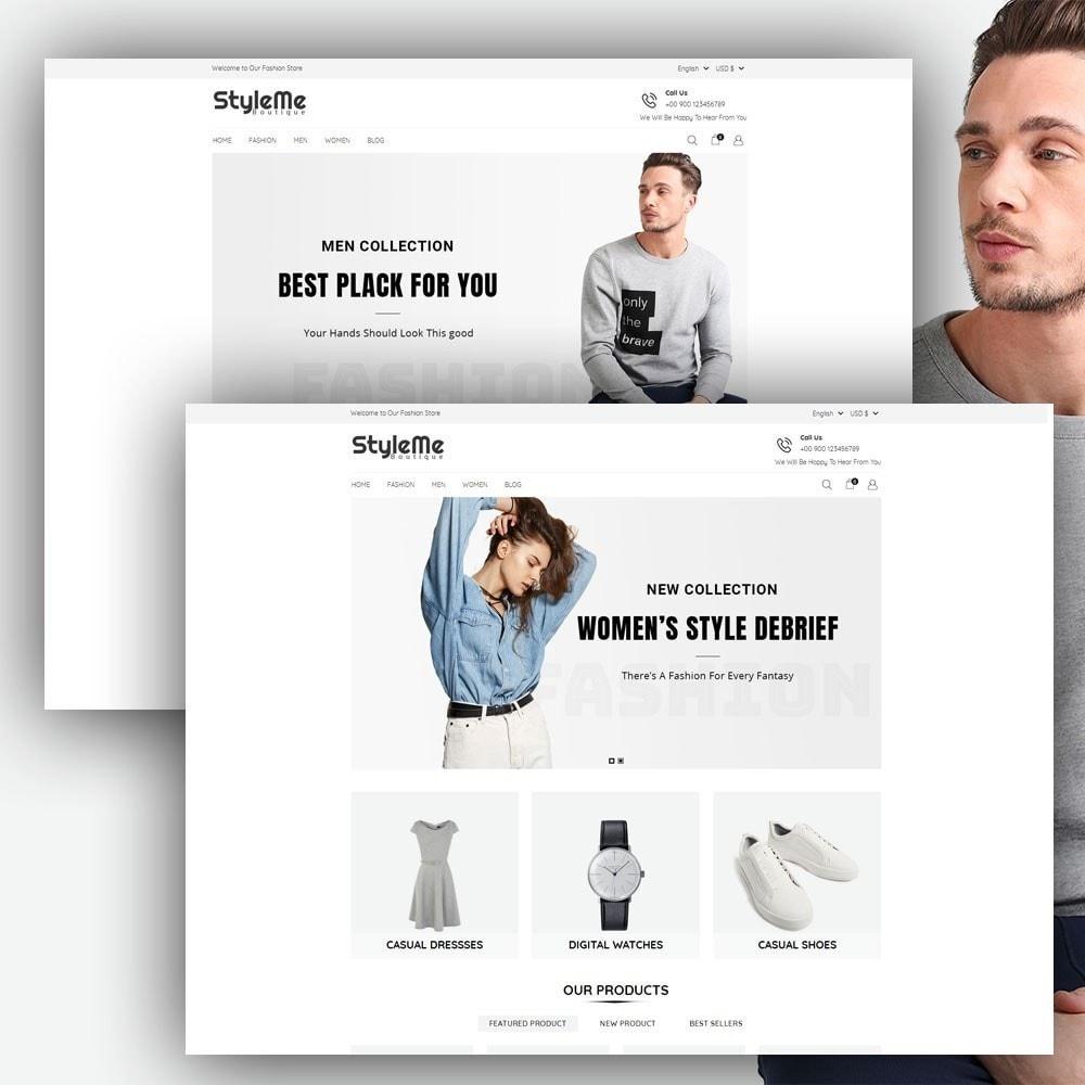 theme - Moda & Calçados - StyleMe Boutique - 2