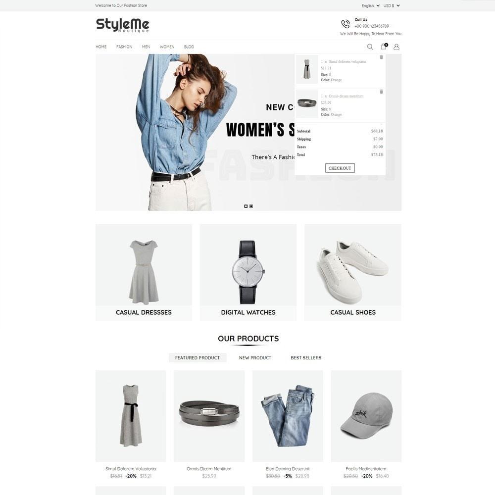 theme - Moda & Calçados - StyleMe Boutique - 3