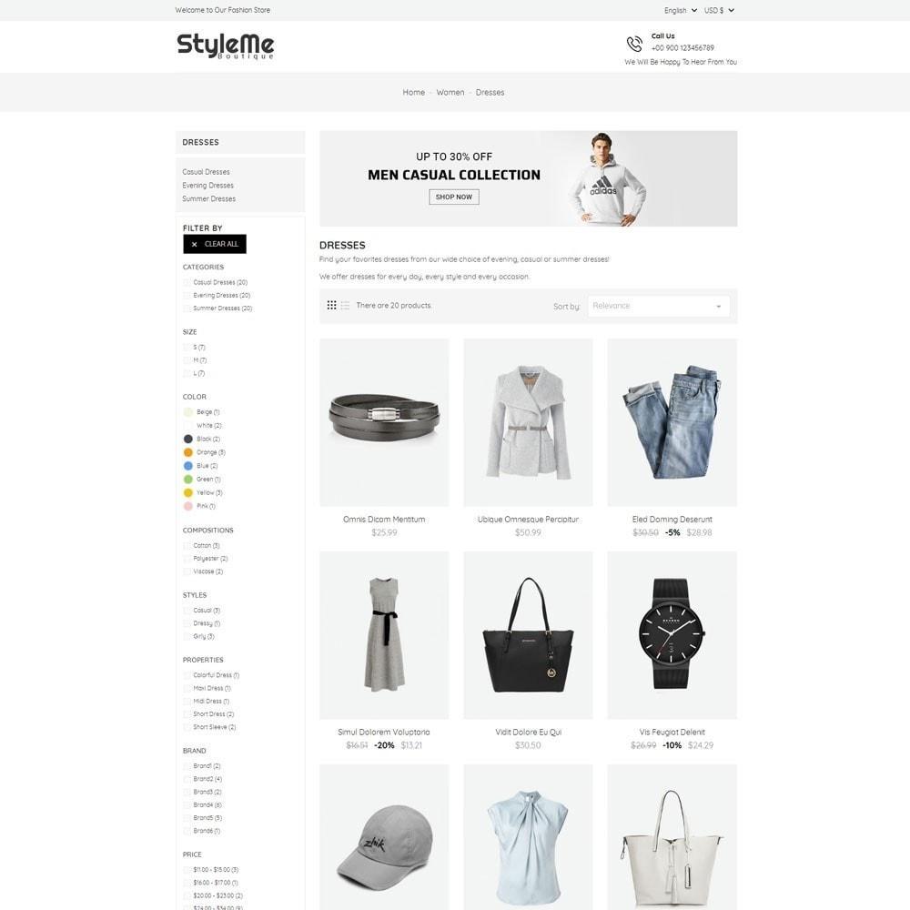 theme - Moda & Calçados - StyleMe Boutique - 4