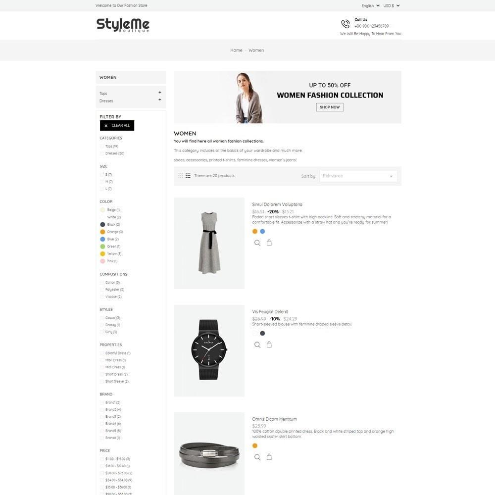theme - Moda & Calçados - StyleMe Boutique - 5