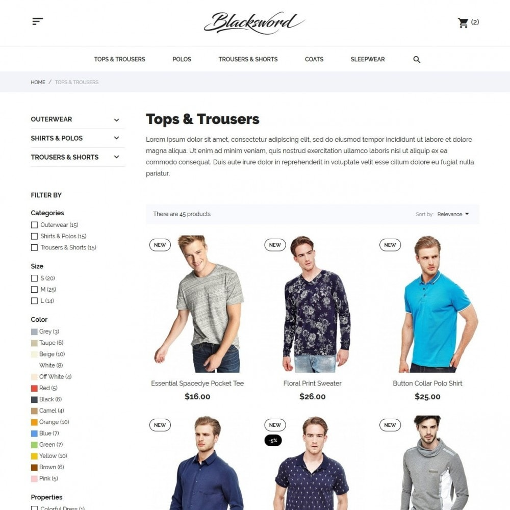 theme - Mode & Schoenen - Blacksword Men's Wear - 6