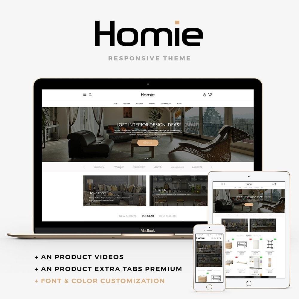 theme - Dom & Ogród - Homie - 1