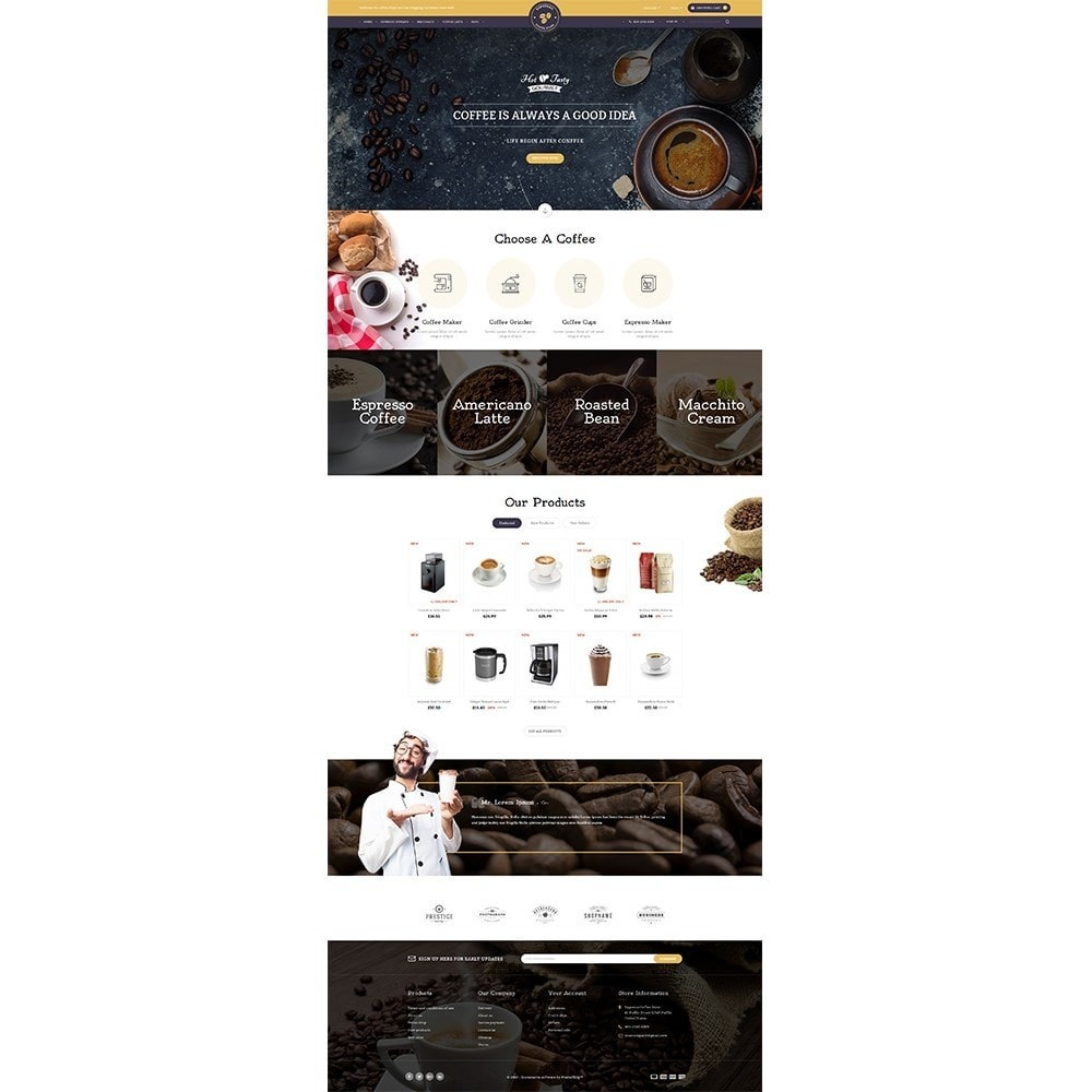 theme - Drink & Wine - Expresso Coffee Store - 2