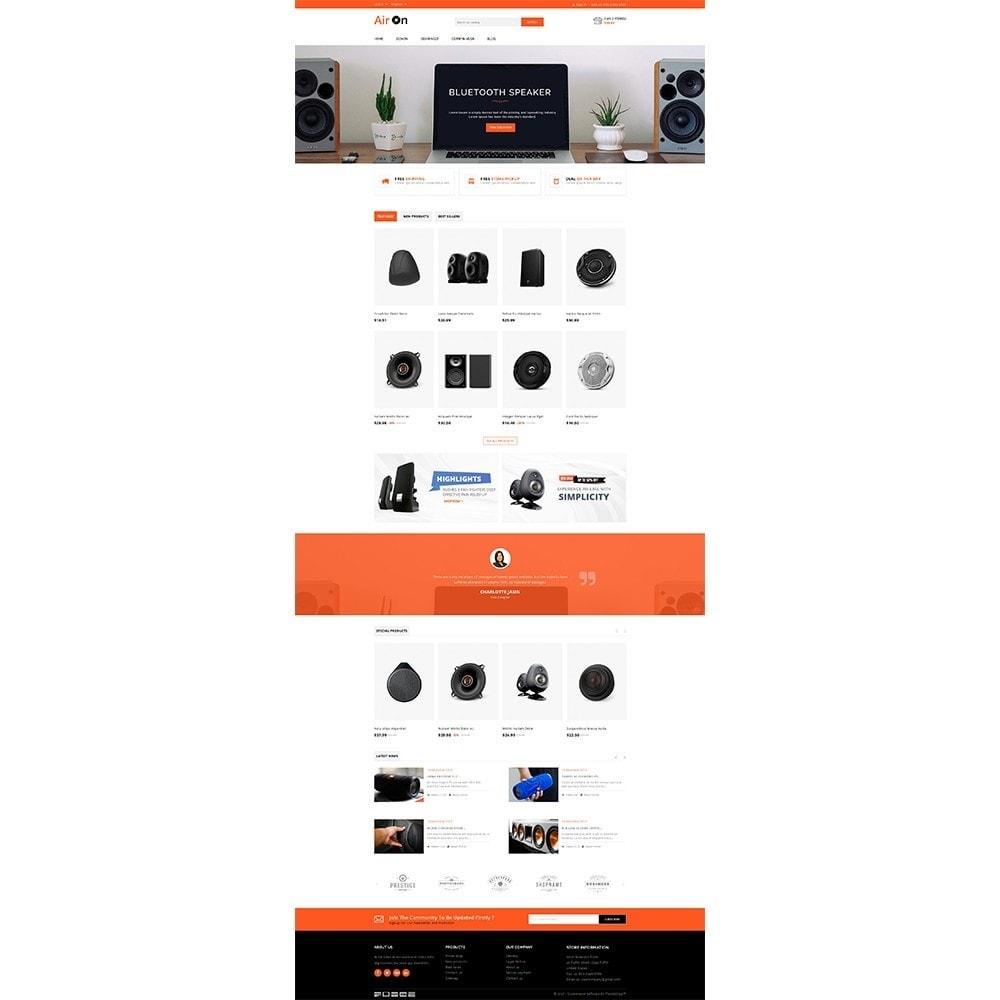 theme - Elektronika & High Tech - Airon Speakers Store - 2