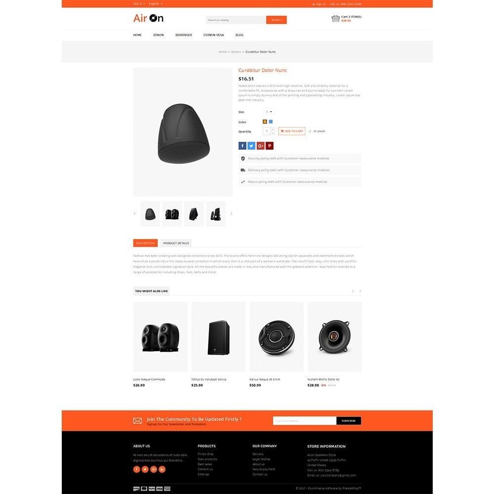 theme - Elektronika & High Tech - Airon Speakers Store - 4