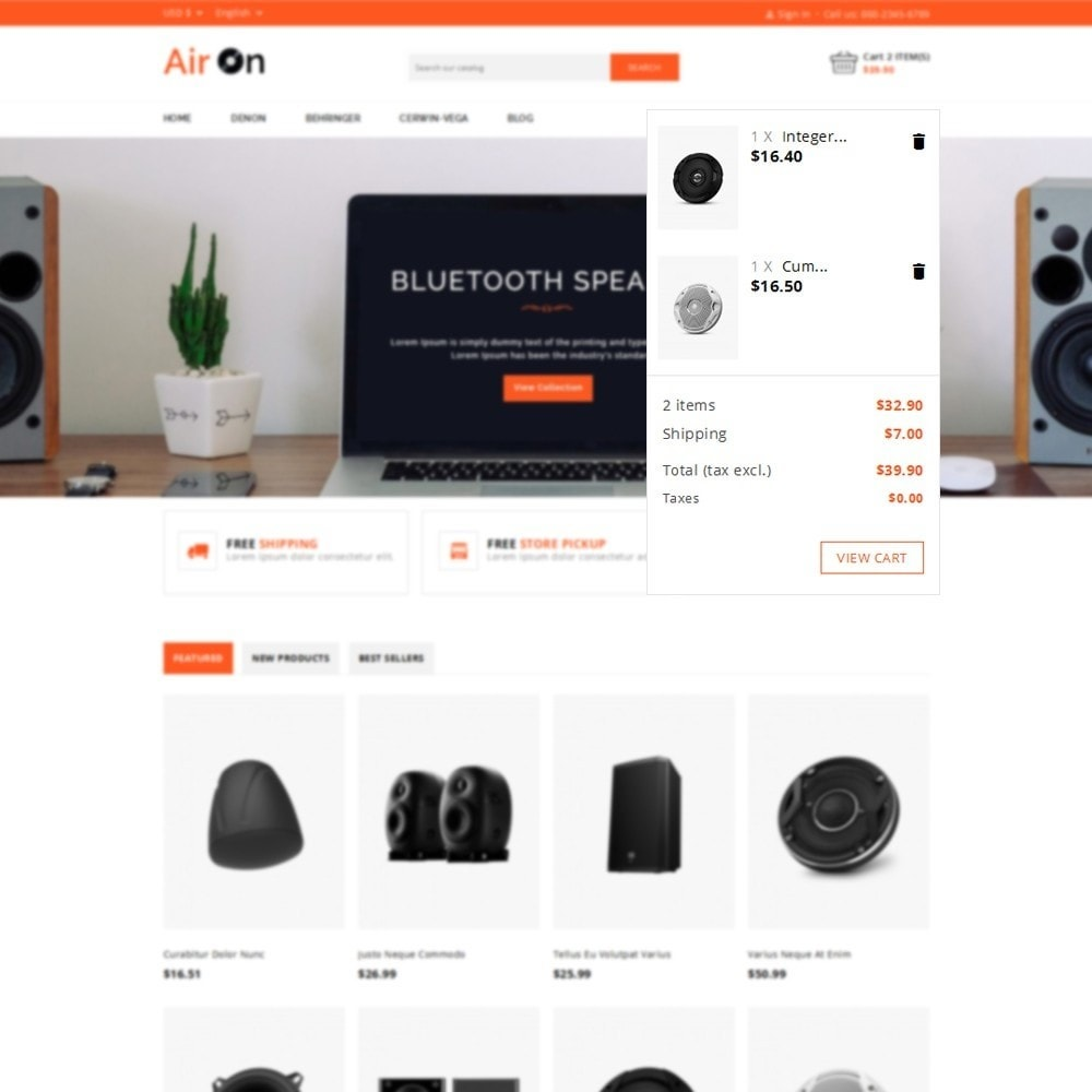 theme - Elettronica & High Tech - Airon Speakers Store - 6