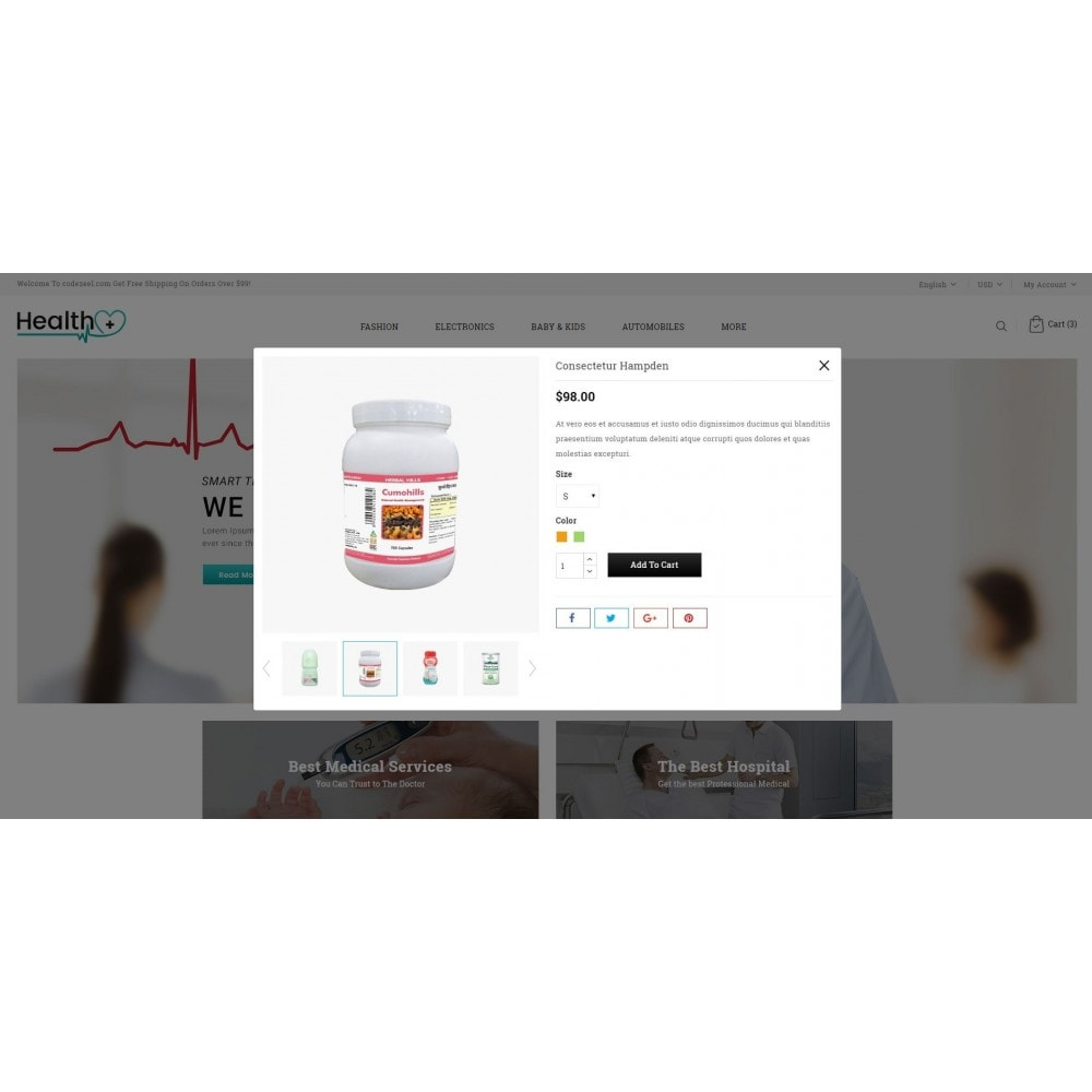 theme - Salute & Bellezza - Health - Medical Store - 7