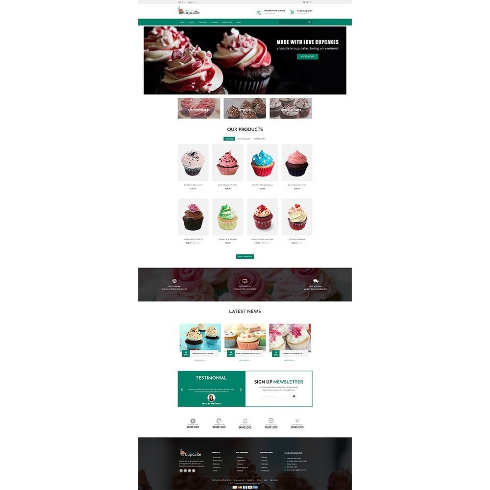 theme - Lebensmittel & Restaurants - Cupcake Cake Shop - 2