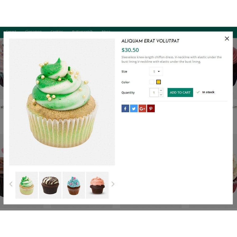 theme - Lebensmittel & Restaurants - Cupcake Cake Shop - 7
