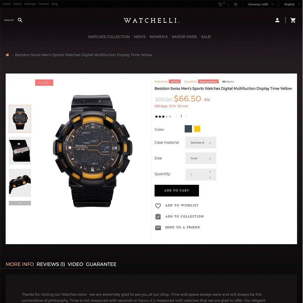 theme - Moda & Calçados - Watchelli - Luxury Watches Store - 3