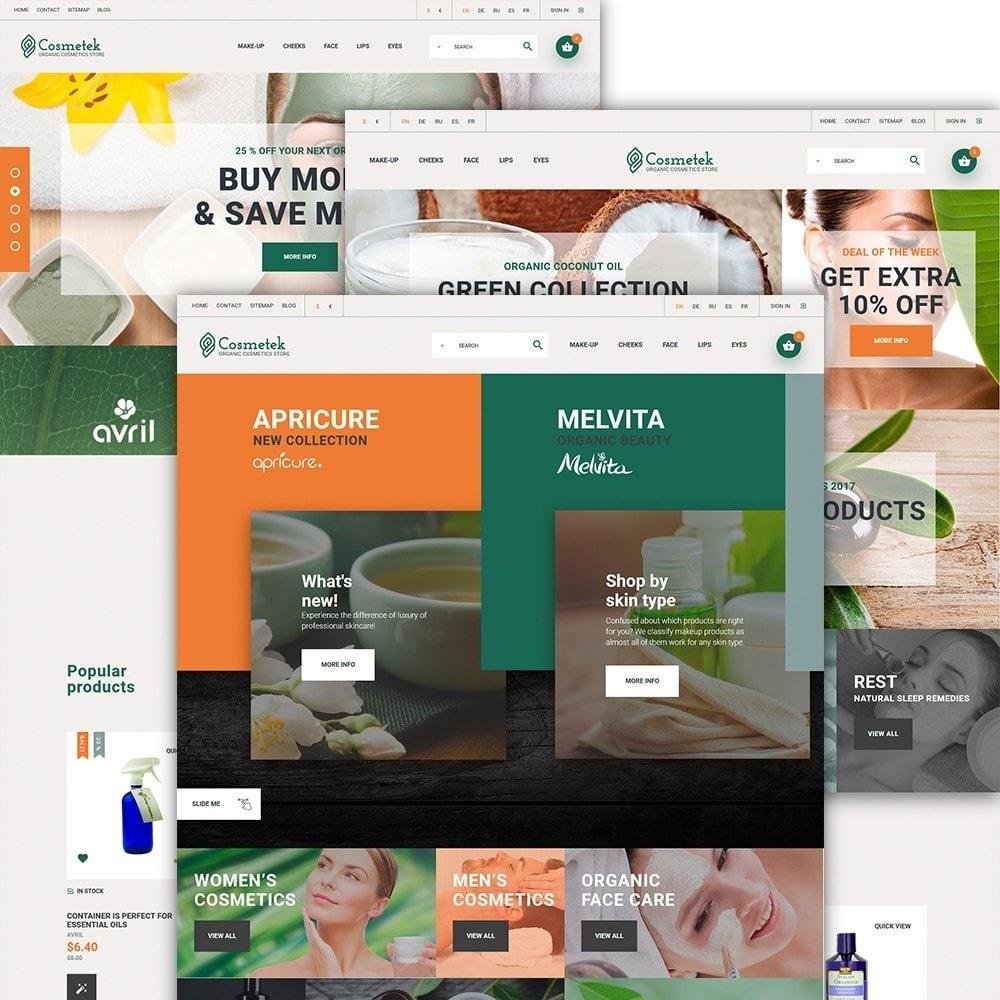 theme - Moda & Calçados - Cosmetek - Organic Cosmetics Store - 2