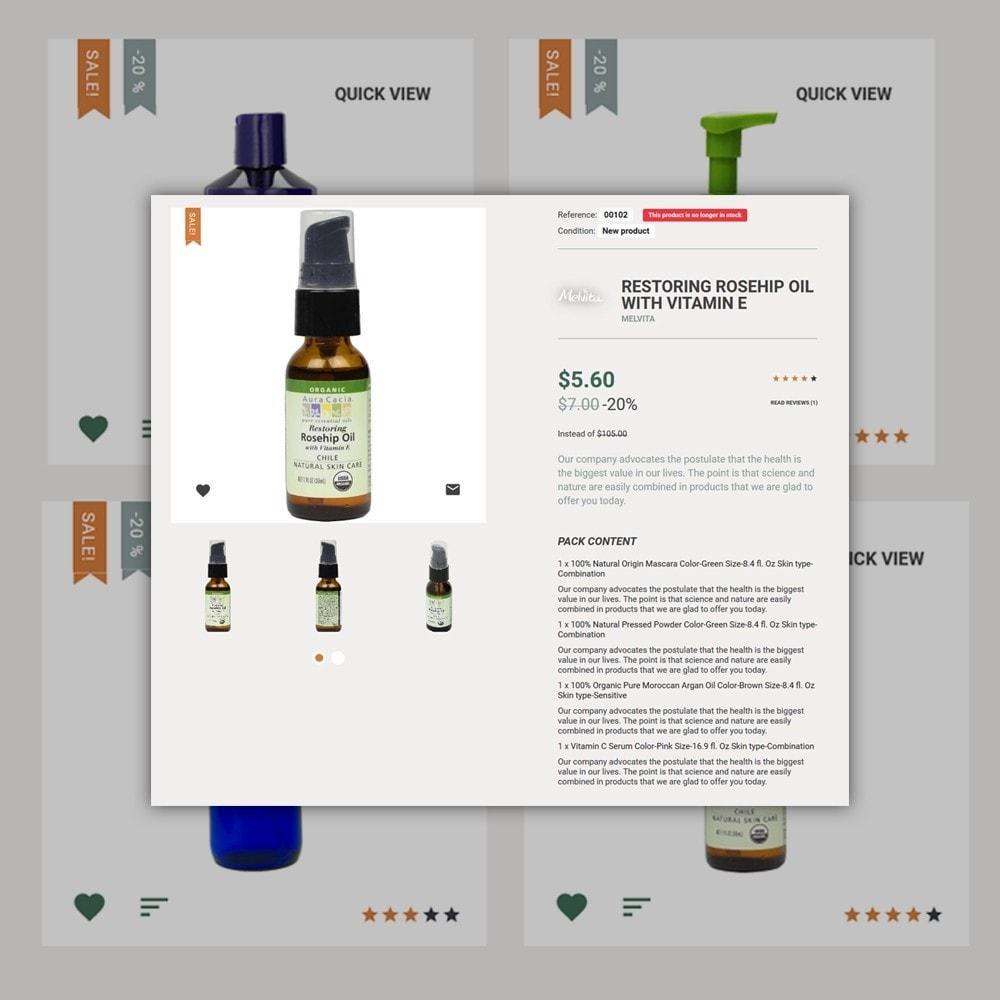 theme - Moda & Calçados - Cosmetek - Organic Cosmetics Store - 5