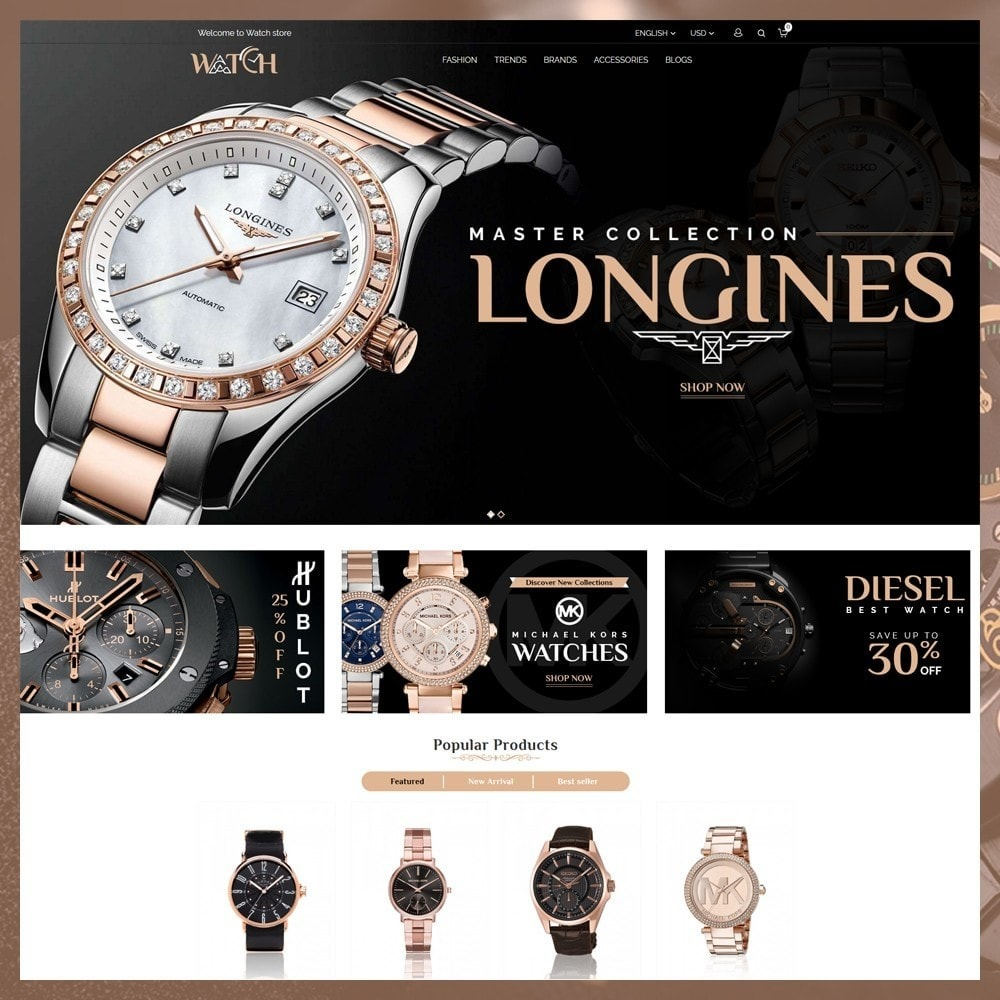 theme - Biżuteria & Akcesoria - Luxury Watch Shop - 2