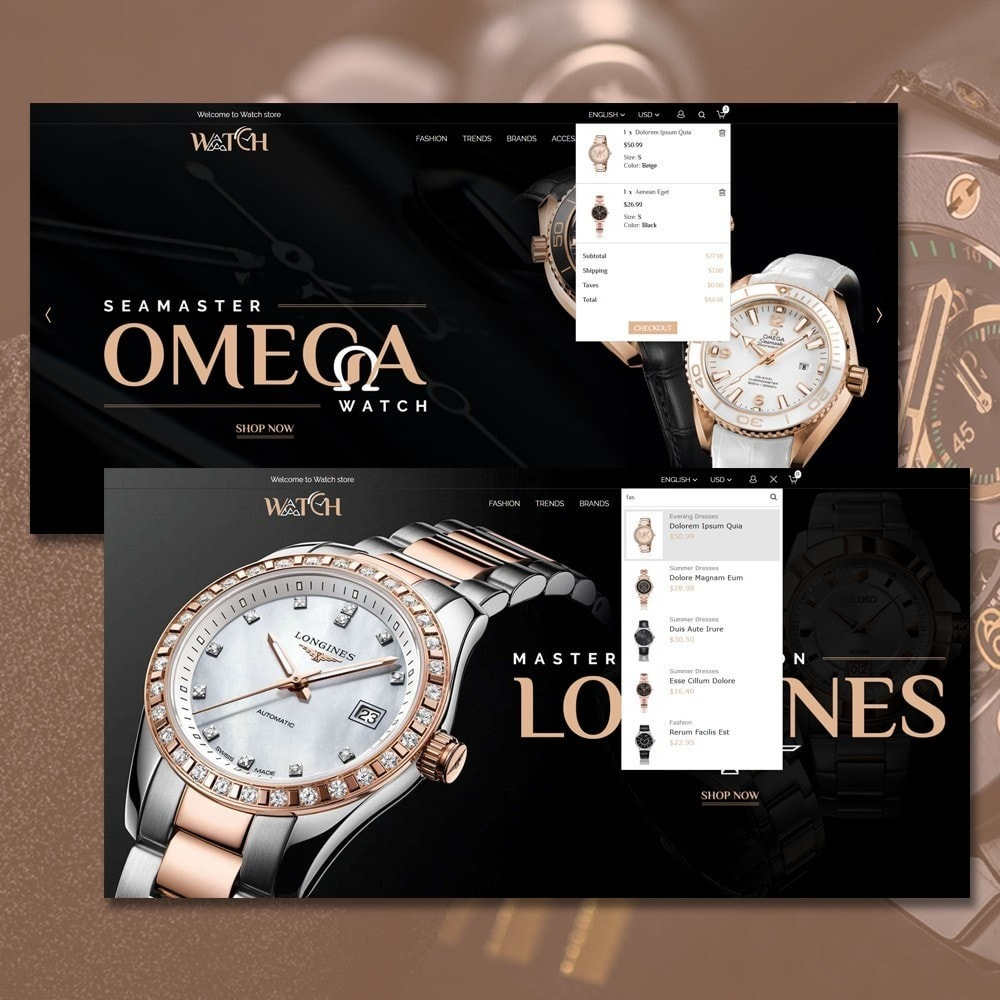 theme - Biżuteria & Akcesoria - Luxury Watch Shop - 3