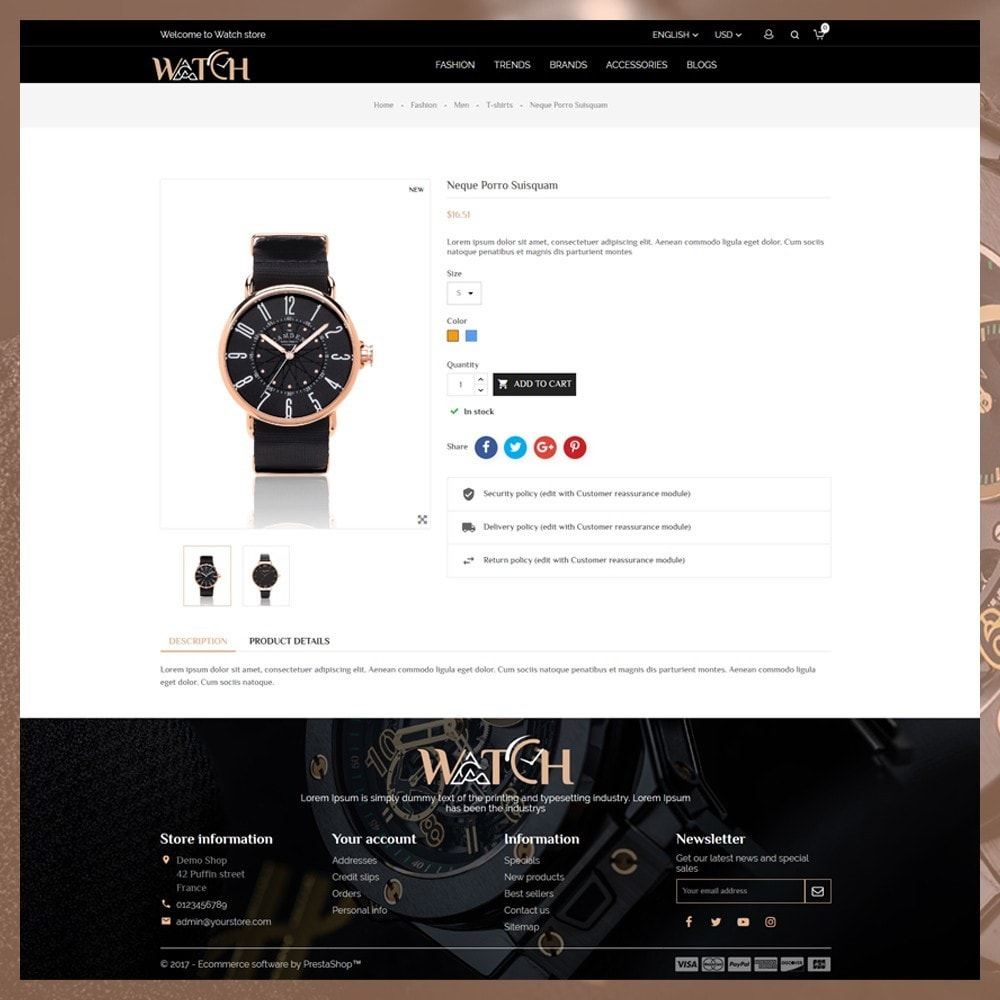 theme - Biżuteria & Akcesoria - Luxury Watch Shop - 6