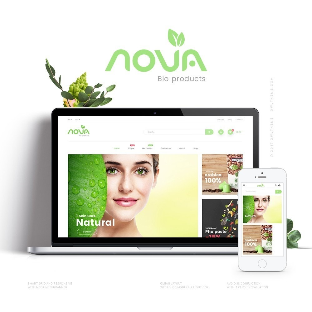 theme - Zdrowie & Uroda - Nova - Bio & Medical Store - 1
