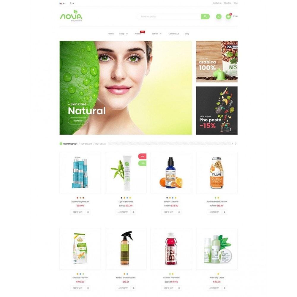 theme - Health & Beauty - Nova - Bio & Medical Store - 2