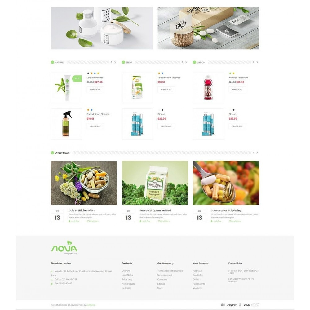theme - Health & Beauty - Nova - Bio & Medical Store - 3