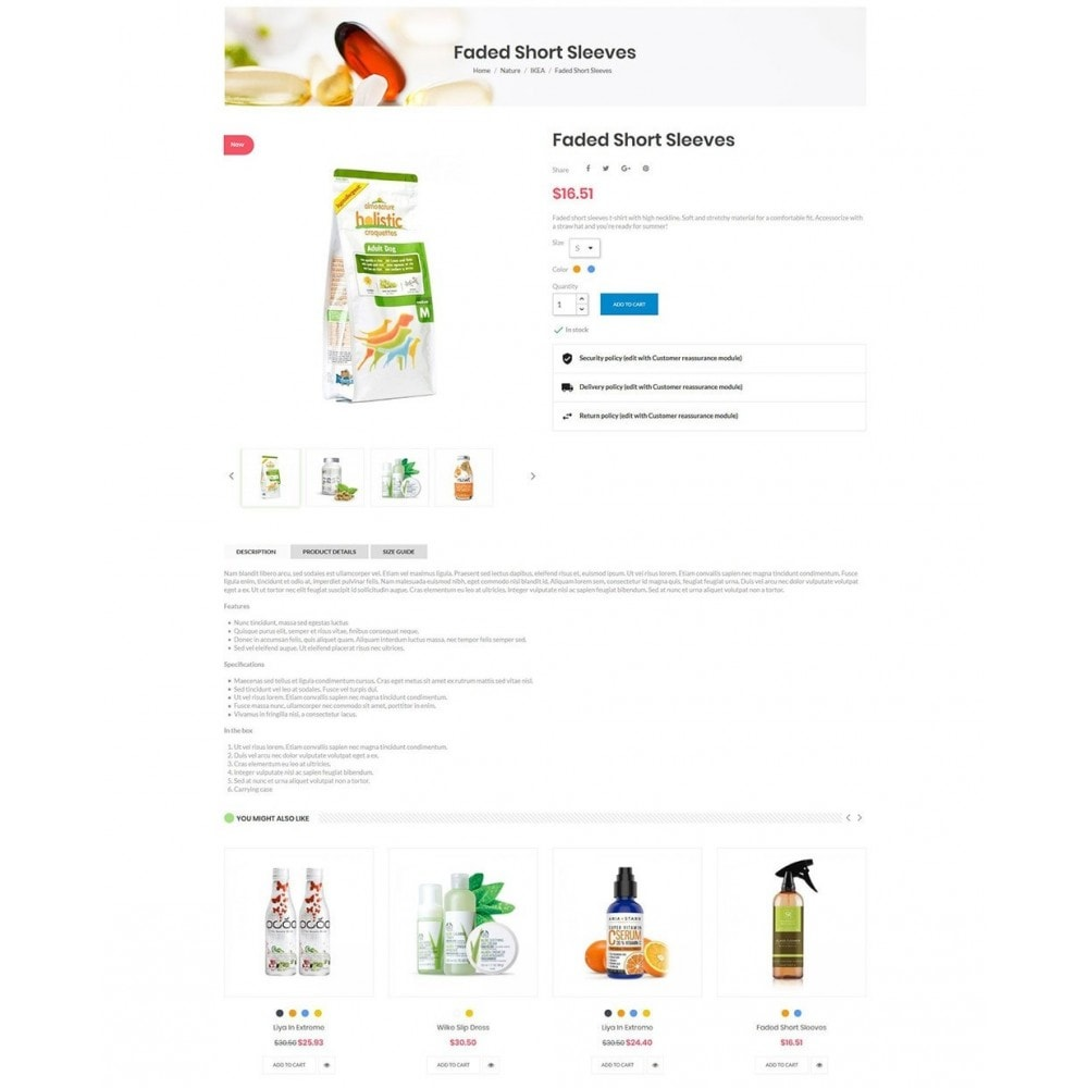 theme - Zdrowie & Uroda - Nova - Bio & Medical Store - 5