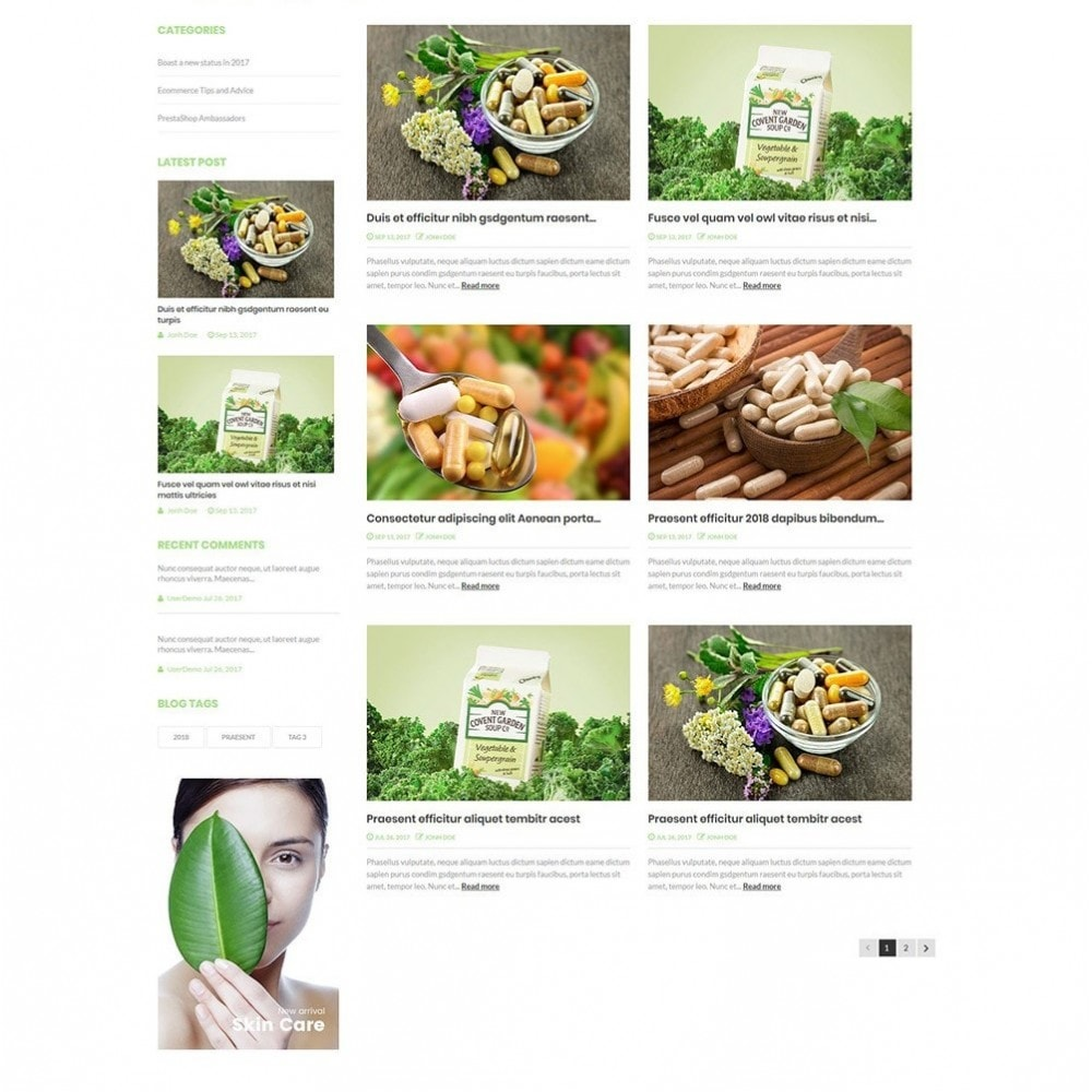 theme - Health & Beauty - Nova - Bio & Medical Store - 6