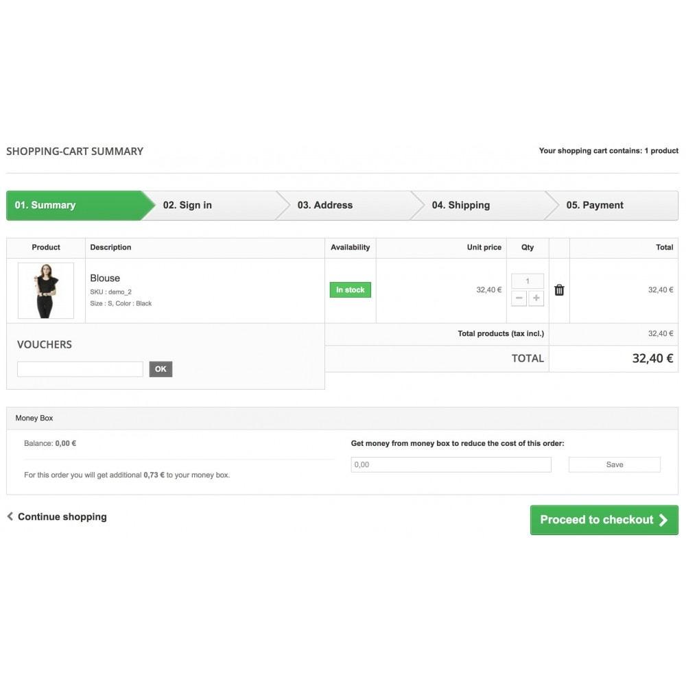 module - Programa de Fidelidad - Customer Money Box - 6
