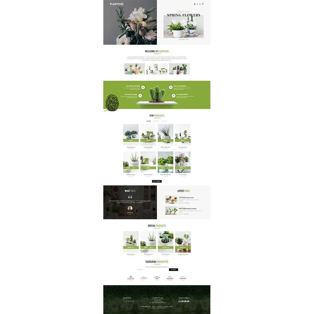 theme - Hogar y Jardín - Plantplus Plant Shop - 2