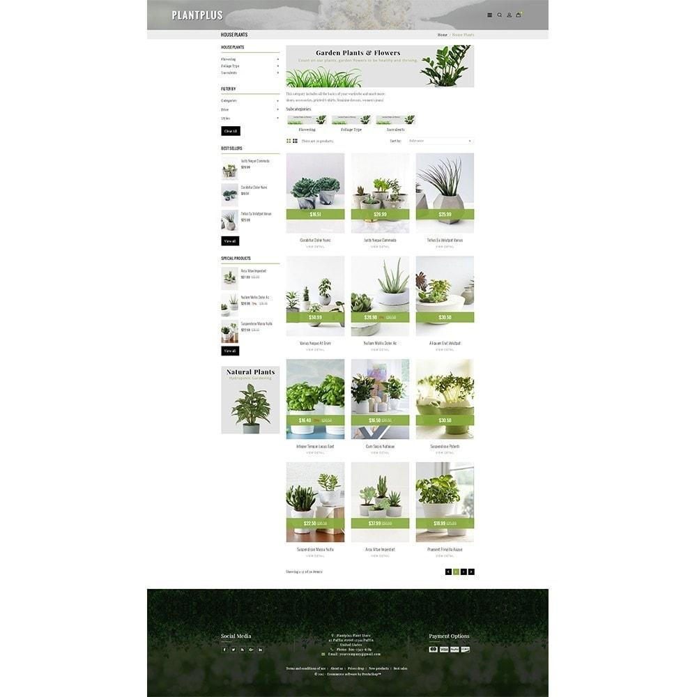 theme - Hogar y Jardín - Plantplus Plant Shop - 3