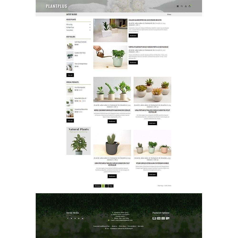 theme - Hogar y Jardín - Plantplus Plant Shop - 8