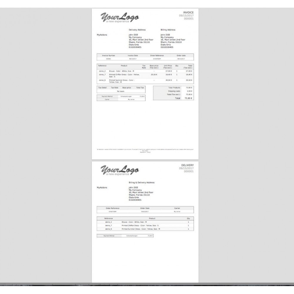 module - Boekhouding en fakturatie - Print invoice and delivery slip in mass - 4