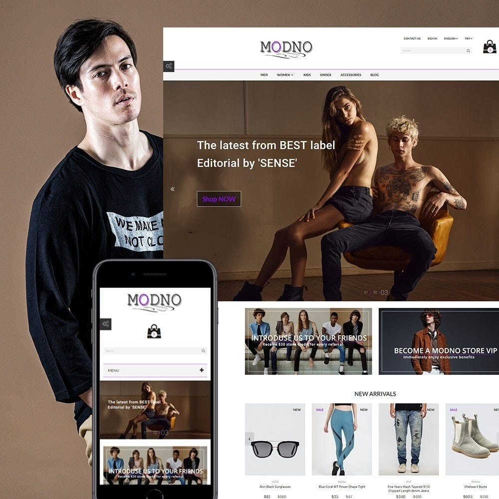 theme - Moda y Calzado - Modno - Clothing and Fashion Store - 1