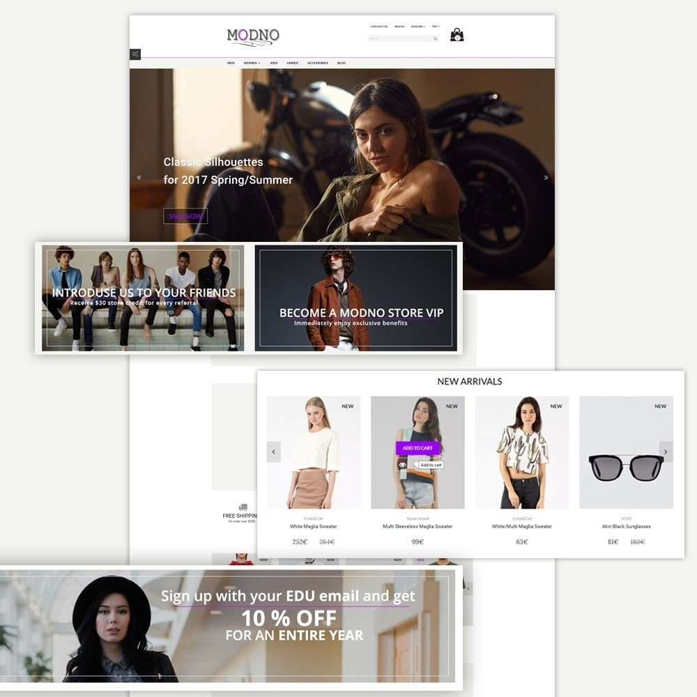 theme - Moda y Calzado - Modno - Clothing and Fashion Store - 2