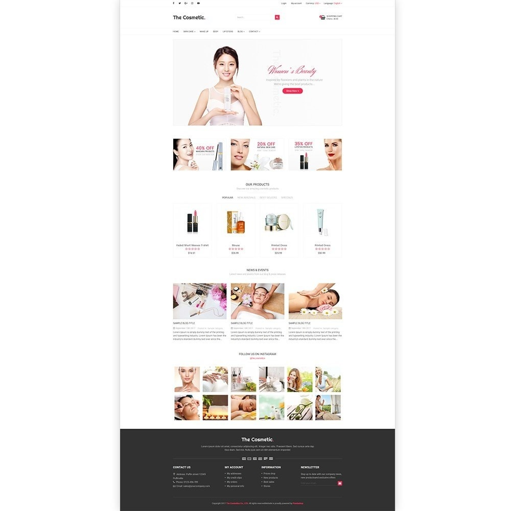 theme - Gesundheit & Schönheit - The Cosmetics - Beauty, health and cosmetic store - 2