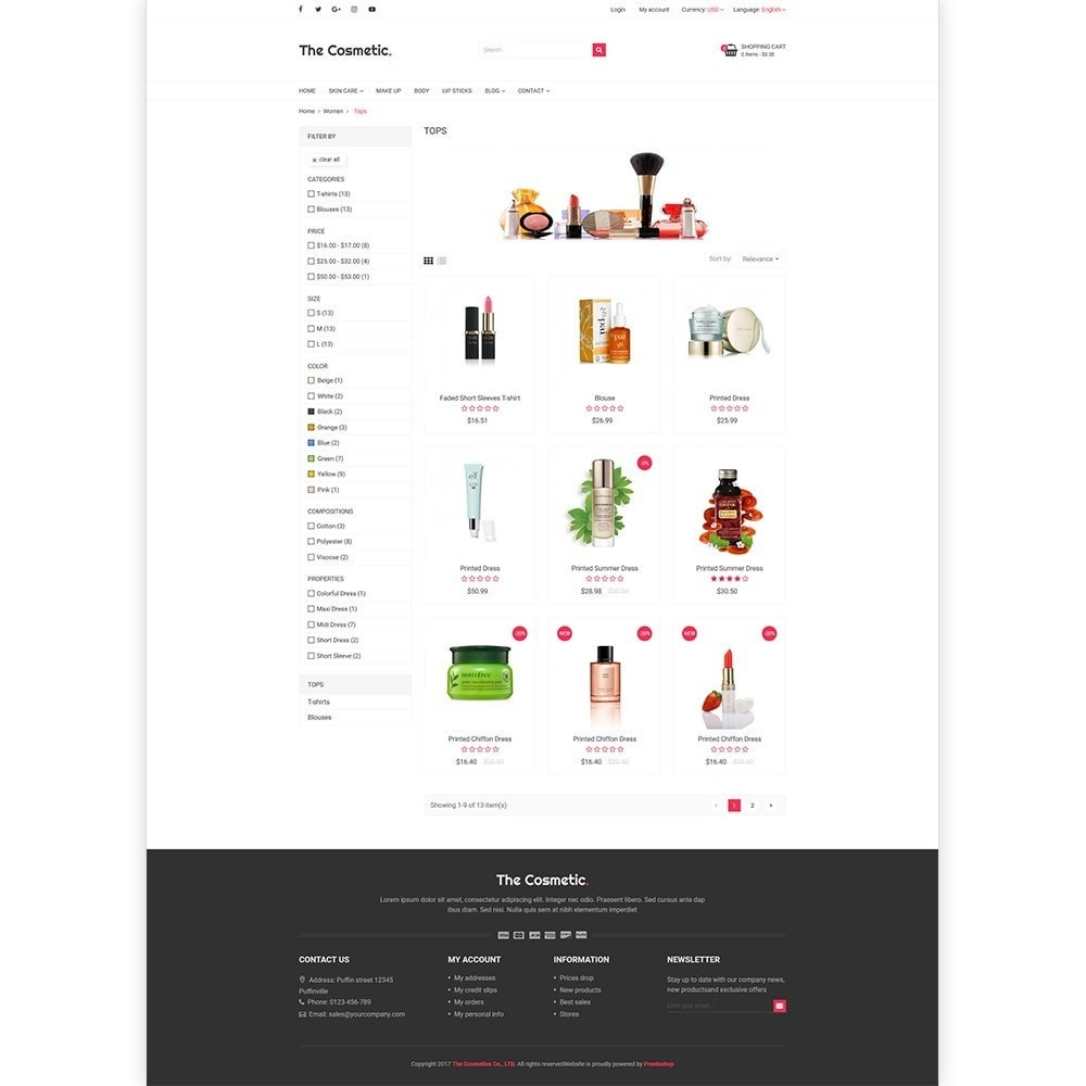 theme - Gesundheit & Schönheit - The Cosmetics - Beauty, health and cosmetic store - 3