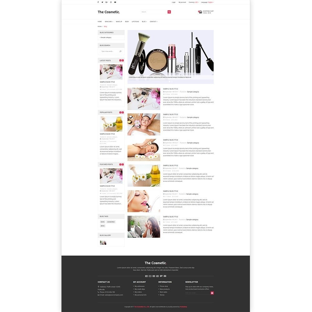 theme - Gesundheit & Schönheit - The Cosmetics - Beauty, health and cosmetic store - 5