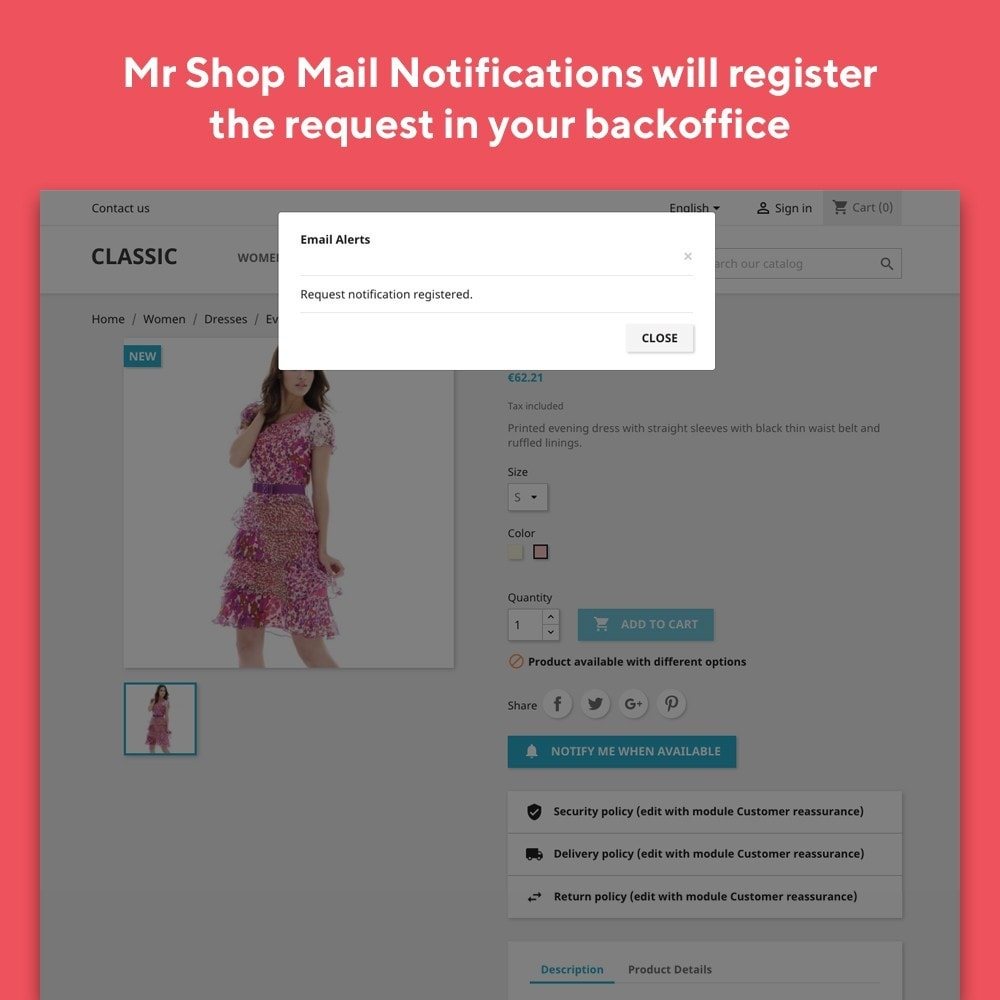 module - E-maile & Powiadomienia - Mr Shop Mail Notifications - 4