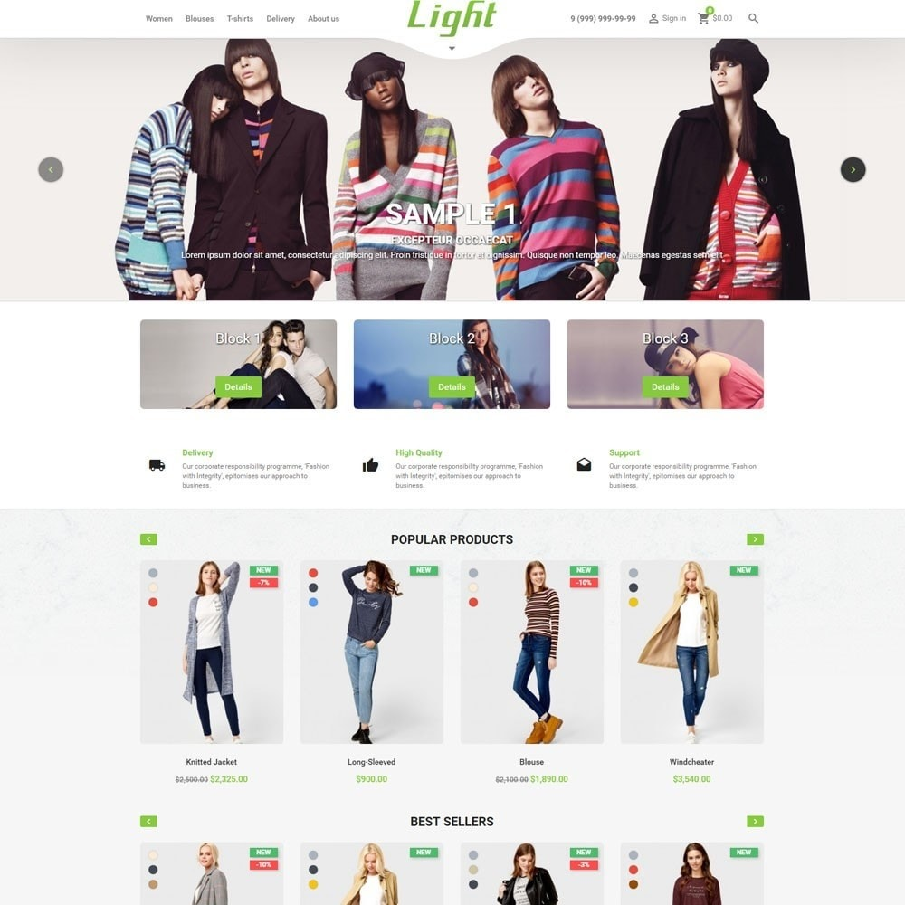 theme - Moda & Calzature - Light Clothes Store - 2