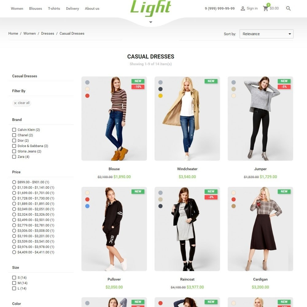 theme - Moda & Calzature - Light Clothes Store - 4
