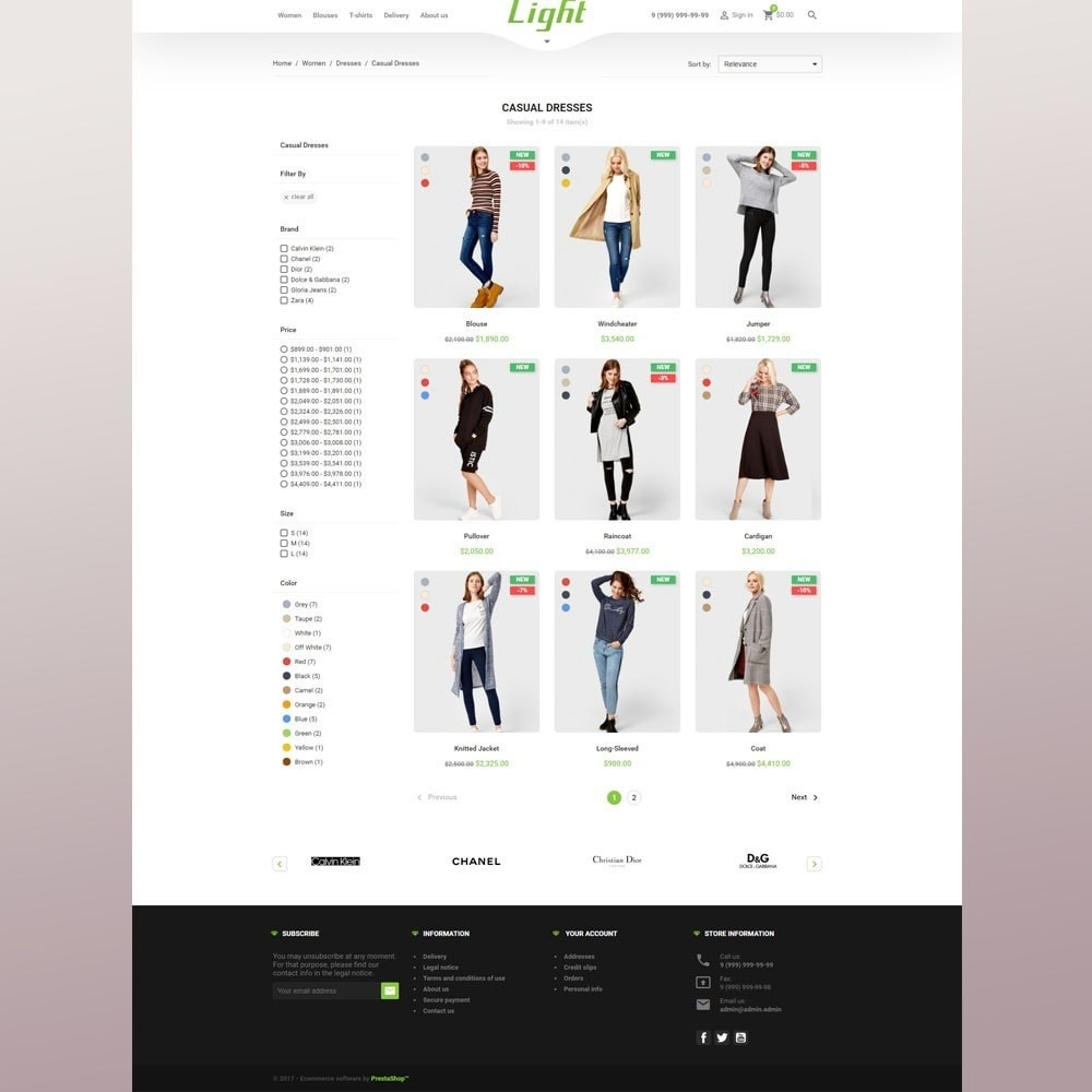 theme - Moda & Calzature - Light Clothes Store - 5