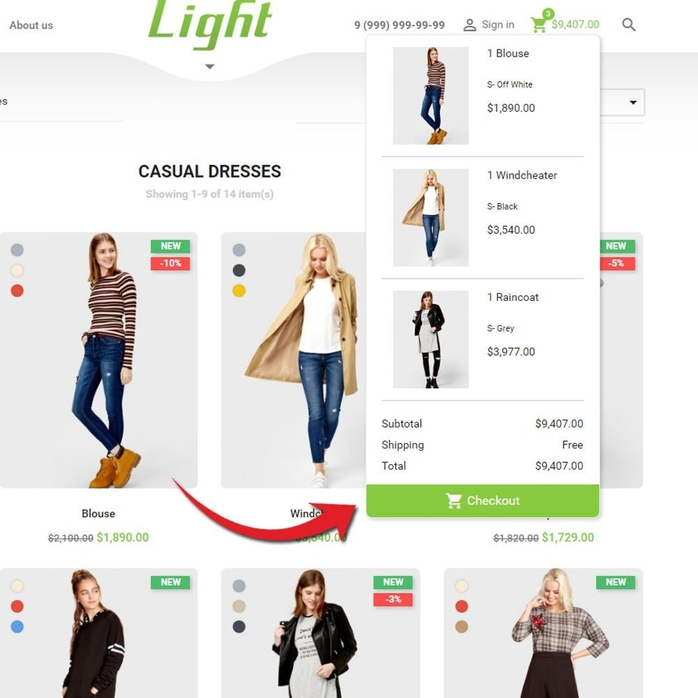 theme - Moda & Calzature - Light Clothes Store - 7