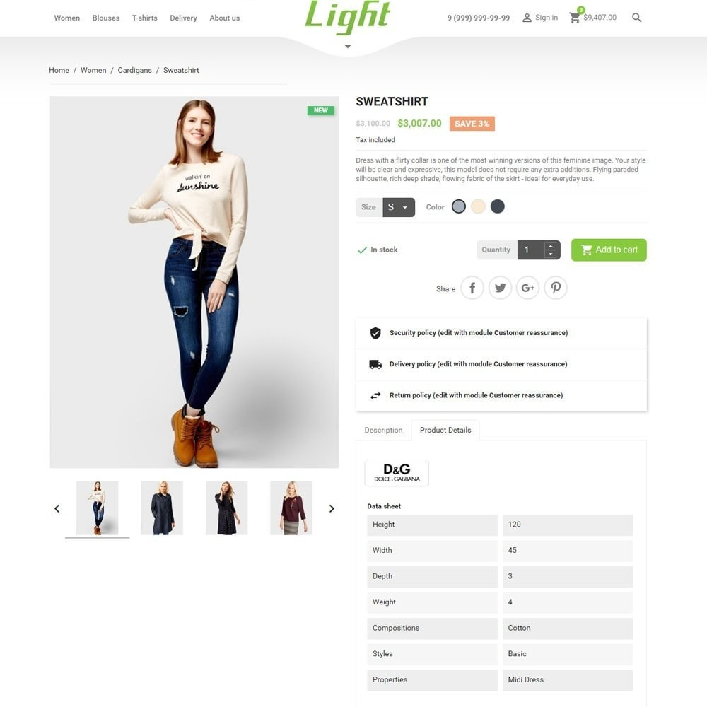 theme - Moda & Calzature - Light Clothes Store - 8