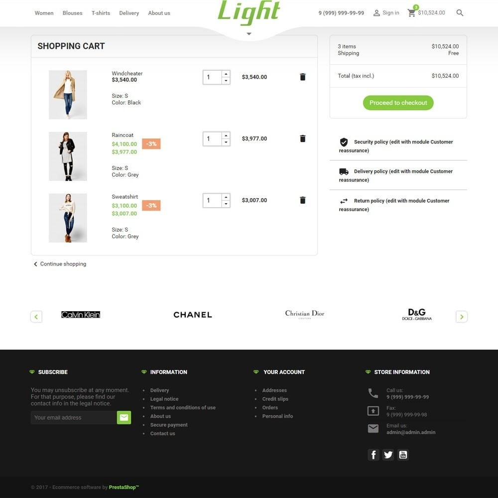 theme - Moda & Calzature - Light Clothes Store - 10