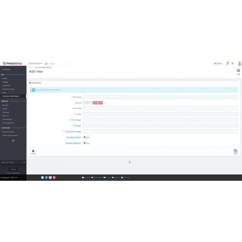 module - Programa de Fidelidad - Comprobante de cliente basado en la facturación - 2