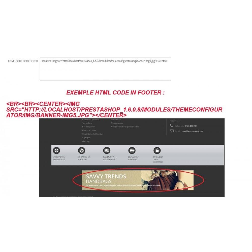 module - Personalização de página - INSERT HTML CODE - 3