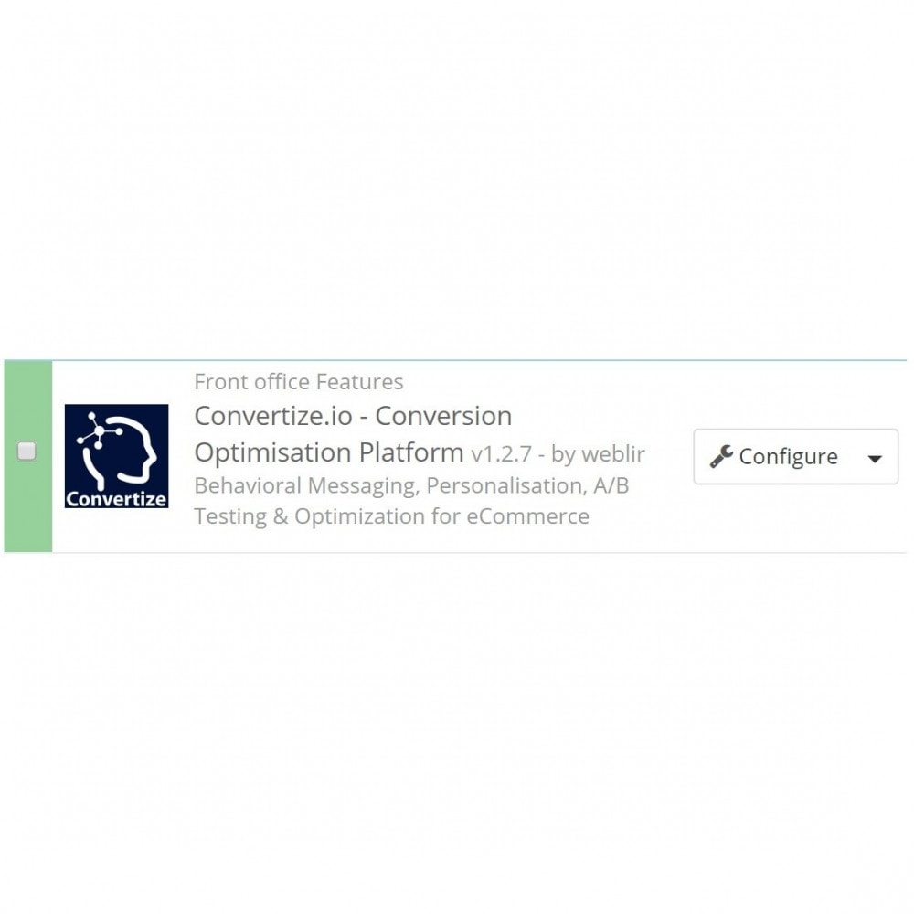 module - Análises & Estatísticas - Convertize.io - Conversion Optimisation Platform - 2