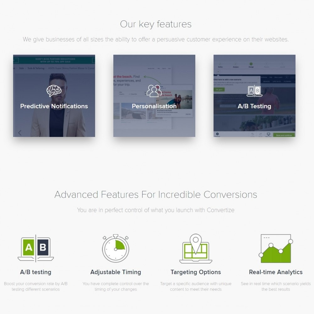 module - Analytics & Statistics - Convertize.io - Conversion Optimisation Platform - 6
