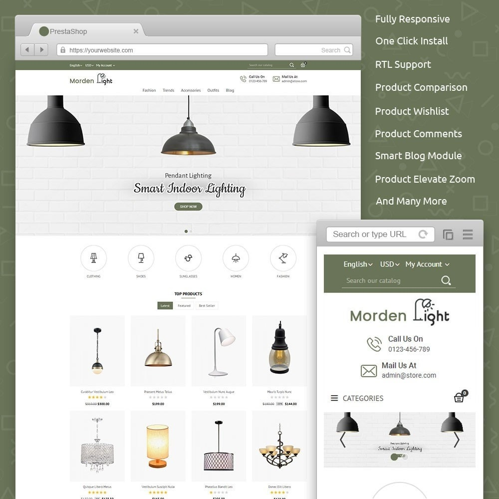 theme - Maison & Jardin - Morden Light Store - 1