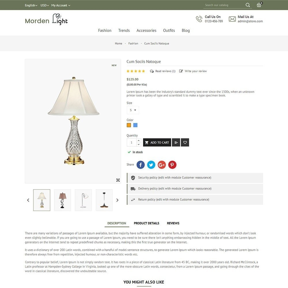 theme - Maison & Jardin - Morden Light Store - 5
